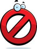 No Symbol royalty free illustration
