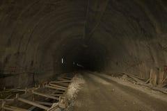 No túnel Imagens de Stock
