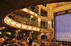 No teatro dramático em Éstocolmo Fotografia de Stock Royalty Free