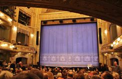 No teatro dramático em Éstocolmo Imagens de Stock