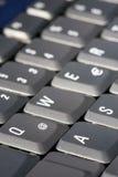 @ no teclado Imagem de Stock Royalty Free