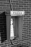 No telefone a casa Imagenes de archivo