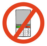 No telephone Royalty Free Stock Image