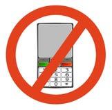 No telephone Royalty Free Stock Image
