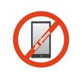 No telephone Royalty Free Stock Photos