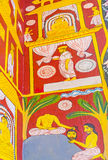 No templo budista velho Imagens de Stock Royalty Free