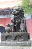 No templo Yunhegun do Lamaist imagem de stock