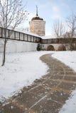 No território do convento Fotos de Stock Royalty Free
