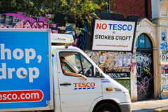 No Tesco! Royalty Free Stock Photos