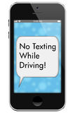 No Texting While Driving Royalty Free Stock Photo