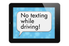 No Texting While Driving Stock Photo