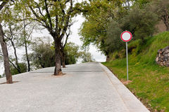 No thoroughfare for Traffic Royalty Free Stock Images