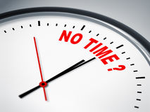 No time ? Stock Image