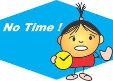 No time royalty free illustration