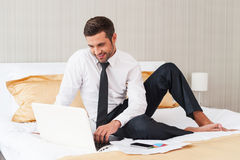 No time for rest. Stock Photo