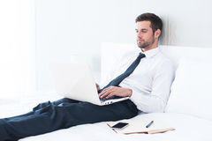 No time to relax. Royalty Free Stock Photos