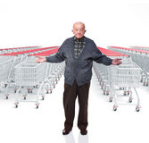 No time to shopping Stock Images