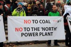No to coal royalty free stock photo