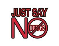 No To Drugs. Royalty Free Stock Photo