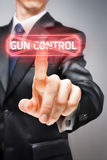 No to gun control Stock Photos