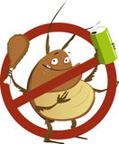 No to pest infestation Royalty Free Stock Photos