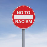 No to Racism Stock Photography
