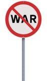 No to War Stock Photo