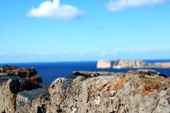 No topo do mundo paisagem da vista Imagens de Stock Royalty Free