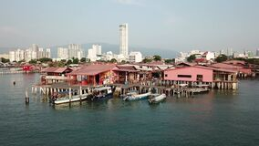 No tourist at Chew jetty during lockdown, movement control order by government.