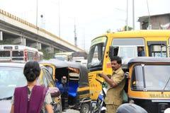 No traffic sense on road Royalty Free Stock Photos