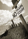 No Train Today Royalty Free Stock Image