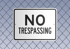 No trespassing Royalty Free Stock Photo