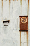 No trespassing rusty gate Royalty Free Stock Photography