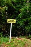 No Trespassing Sign Royalty Free Stock Image