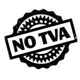 No Tva rubber stamp Royalty Free Stock Photos