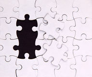 No two elements , blank, puzzle Stock Photos