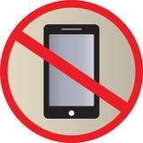 No Use Smart phone sign Royalty Free Stock Photo