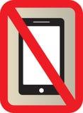 No Use Smart phone sign Stock Photo