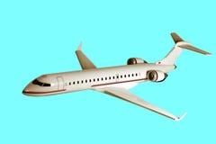 No vôo Imagem de Stock Royalty Free