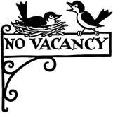 No Vacancy Royalty Free Stock Photos
