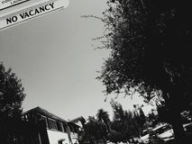 No Vacancy Royalty Free Stock Images