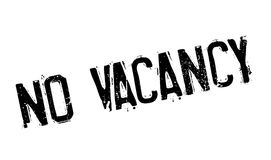 No Vacancy rubber stamp. Grunge design with dust scratches. Effects can be easily removed for a clean, crisp look. Color is easily changed Stock Photo