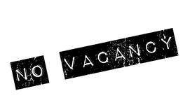 No Vacancy rubber stamp Stock Image