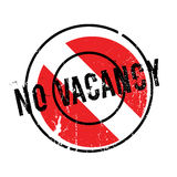 No Vacancy rubber stamp Stock Photography