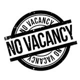 No Vacancy rubber stamp Stock Photos