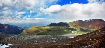 No vale do ribeiro Aktru Foto de Stock Royalty Free