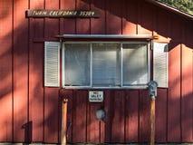 No valet parking. Old general store at Twain, California Royalty Free Stock Photos