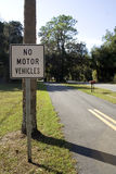 No Vehicles Stock Photography