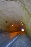 No vehicular tunnel. Outdoor photo of No vehicular tunnel Royalty Free Stock Photography