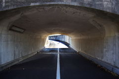 No vehicular tunnel. Outdoor photo of No vehicular tunnel Royalty Free Stock Images